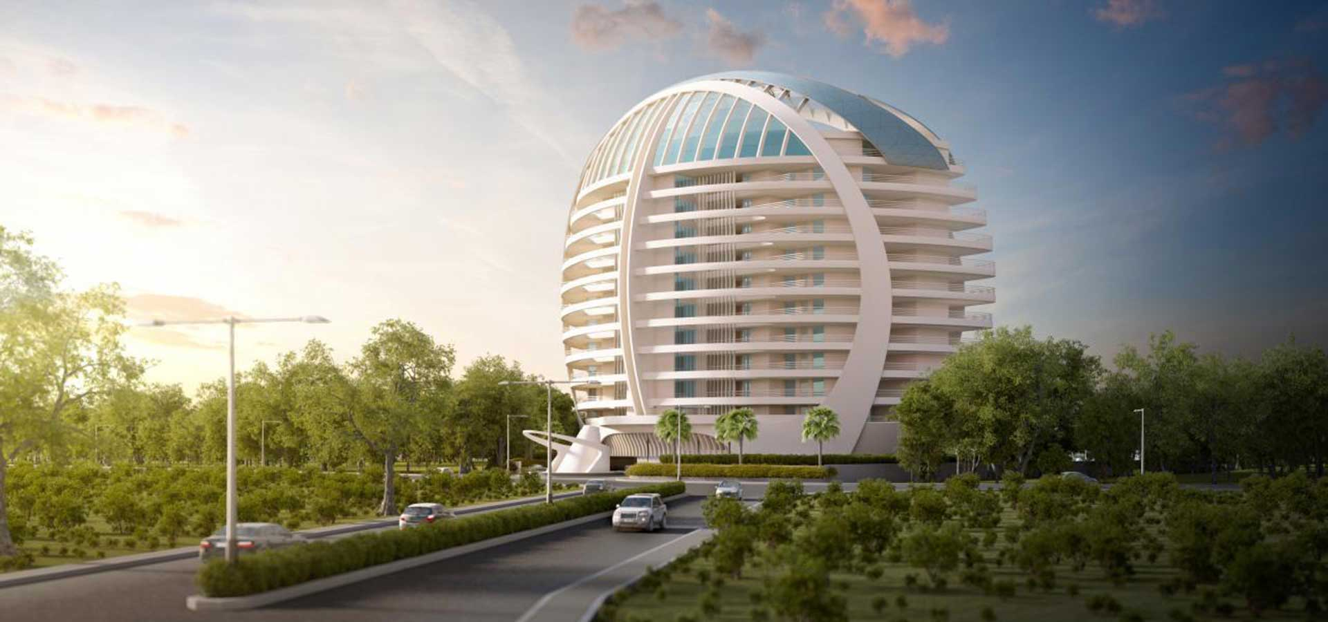 Cloud 9 residential tower vadodara ini for Cloud 9 architecture